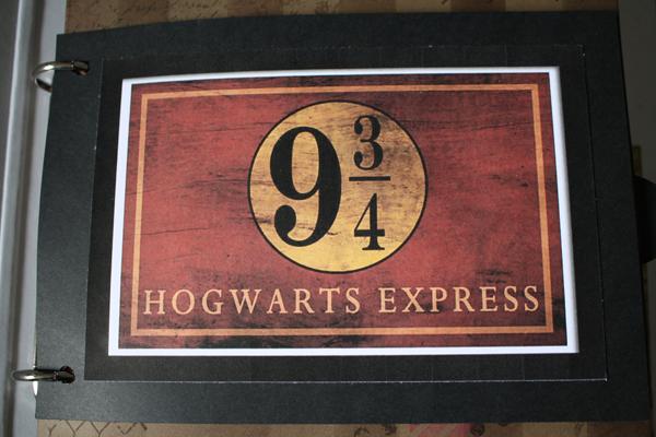 Album scrapbooking sur l'exposition internationale Harry Potter a la Cite du Cinema – Paris printemps ete 2015