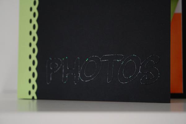 Un porte photo colore (Utilisez vos enveloppes)