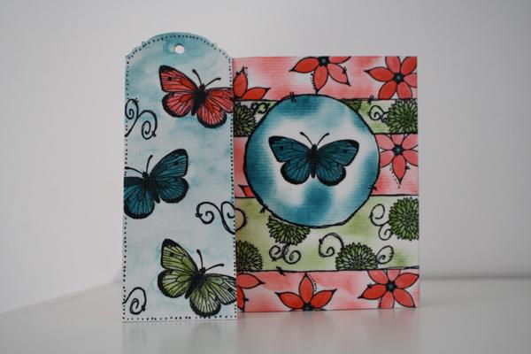 Mini tricolore papillon