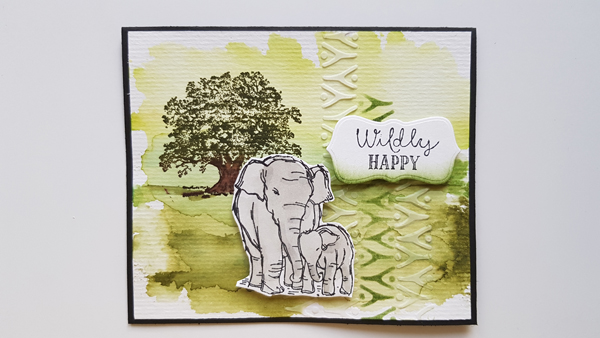 Wildly Happy – Petits bonheurs Stampin'up