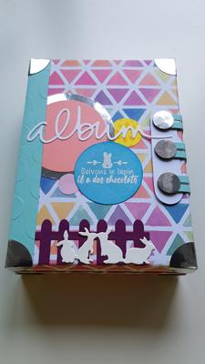 Challenge «Parfum d'ete» theme Paques – La gazette des scrappeuses