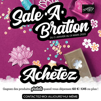 Sale a bration – Stampin'up