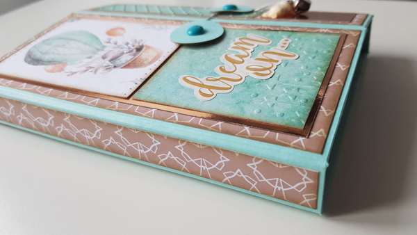 Tutoriel scrapbooking : Mini Album facile