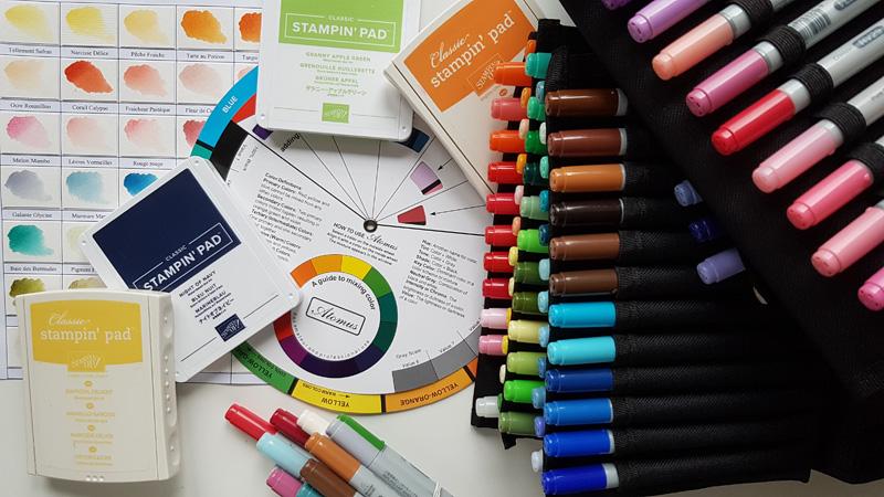 Comprendre les couleurs pour mieux les utiliser dans nos créations de Scrap