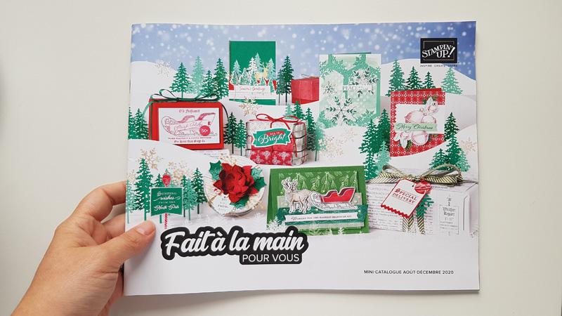Mini catalogue Stampin'up – Août/décembre 2020