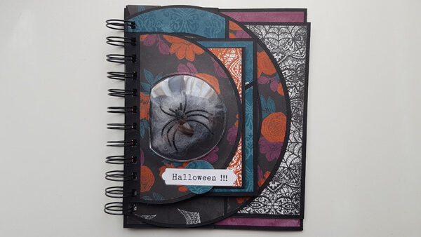 Tutoriel : Album d'Halloween déstructuré