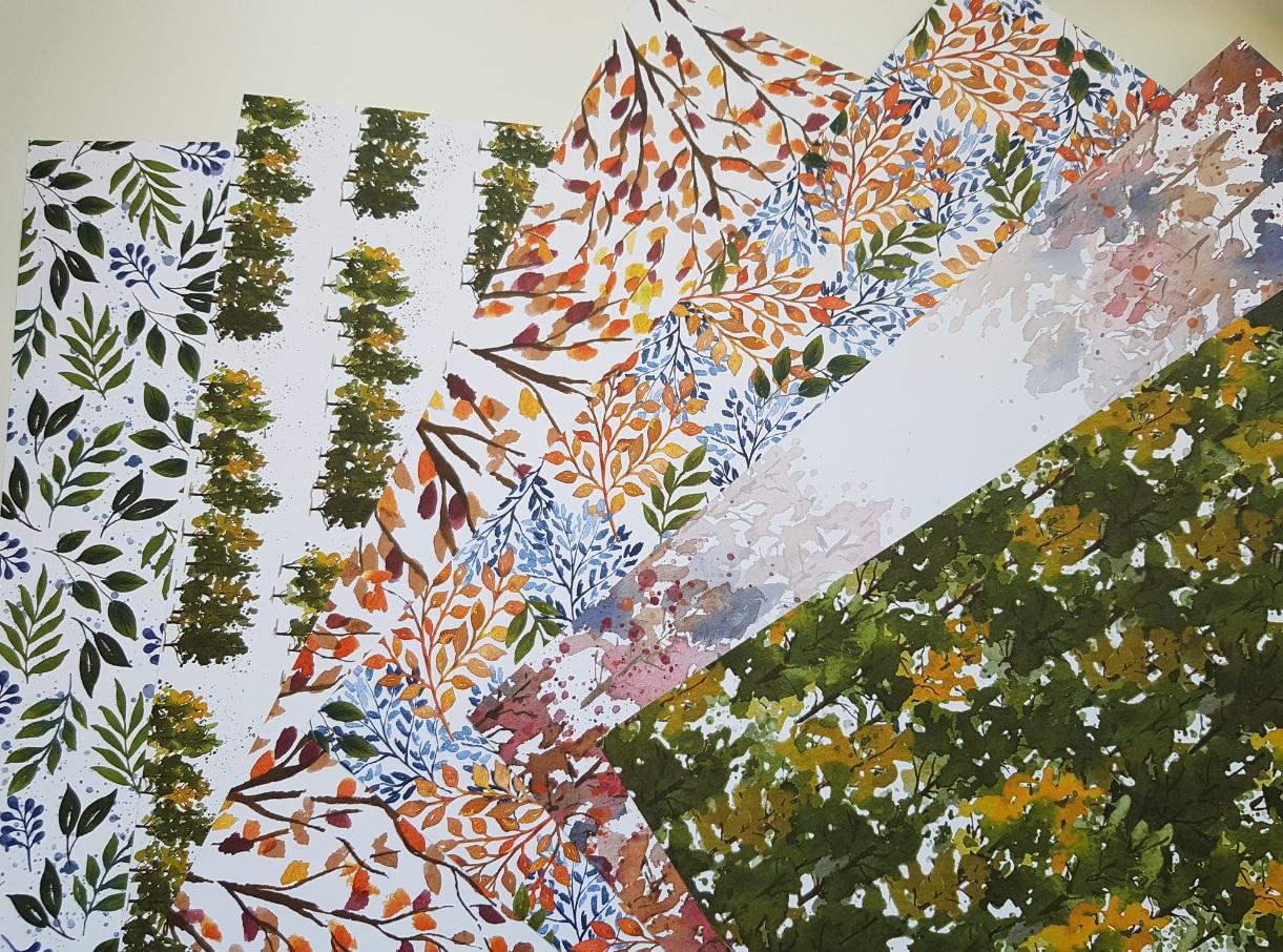2 nouvelles collections de papier design Stampin'up en VIDEO