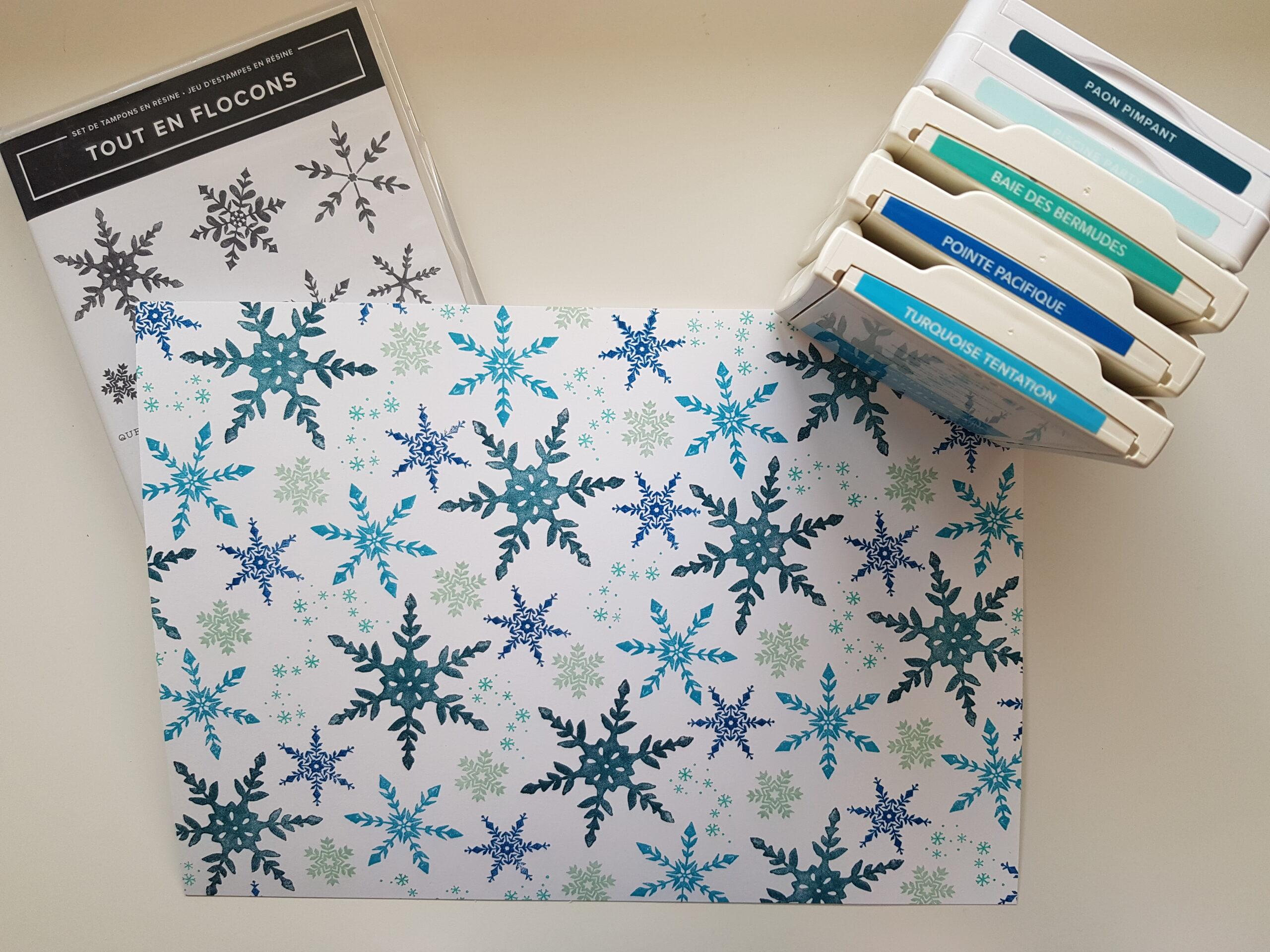 Créer ses papiers de Noël