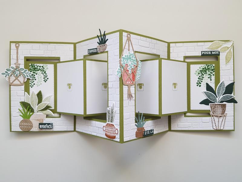 Tutoriel : Carte accordéon ajouré