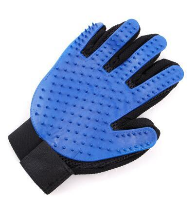 1Pair Quality Silicone Pet Grooming Gloves