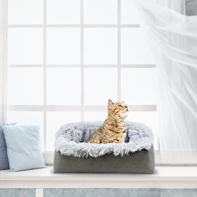 1Pc Comfortable Two-in-one Pet Bed