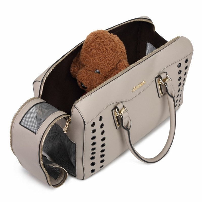Leather Pet Carrying Bag