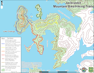Jackrabbit Trail Map Hayesville NC