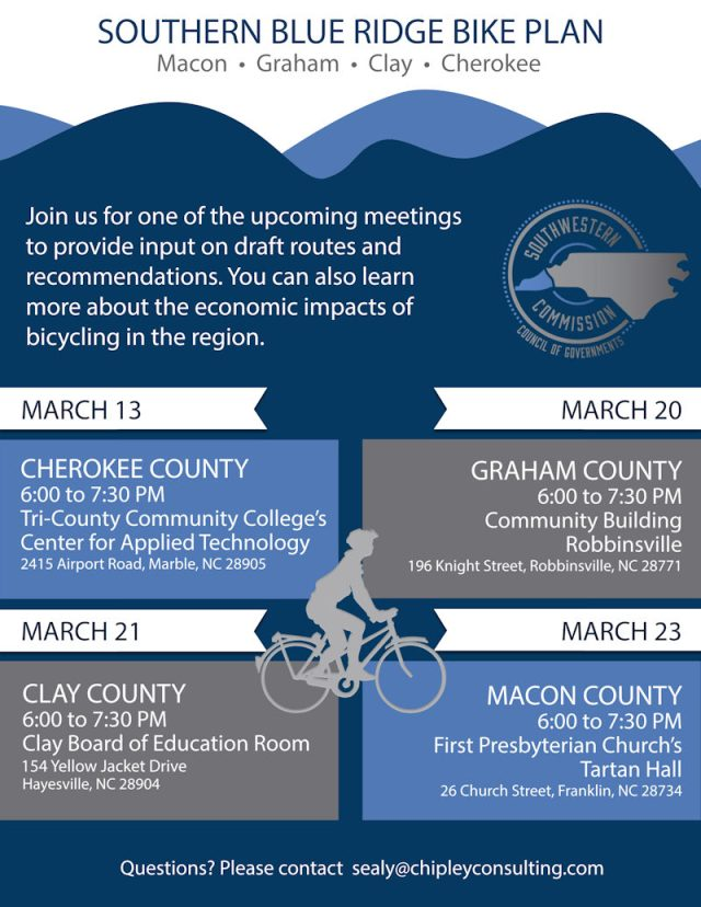 Souther Blue Ridge Bike Plan Meetings