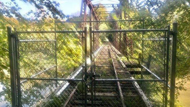rails-to-trails Murphy, NC