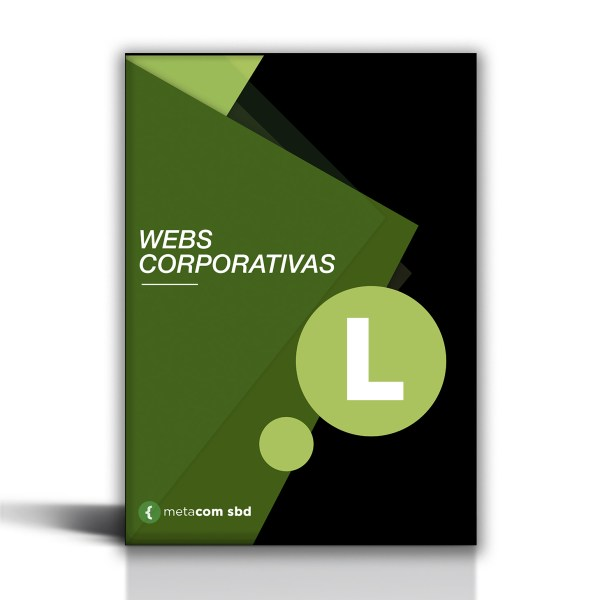 Pack de web corporativa para pymes en sbd