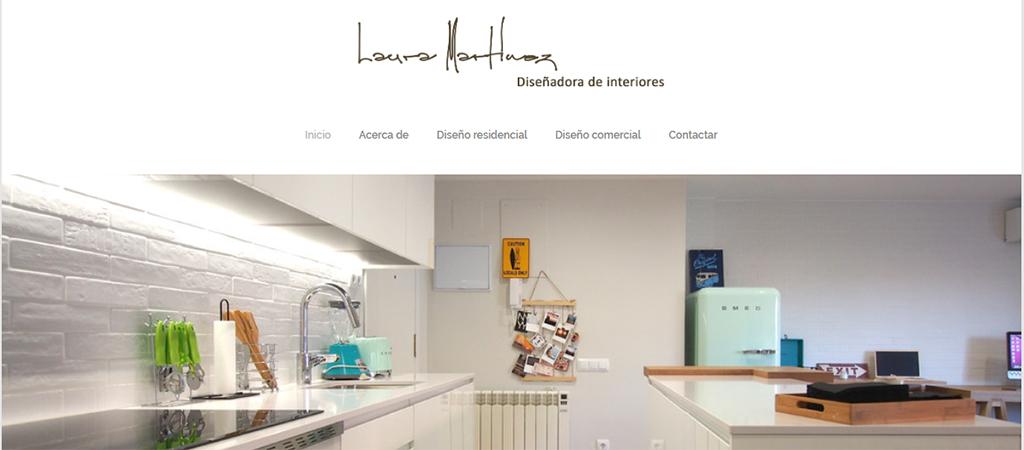 Captura de la web de Laura Martínez