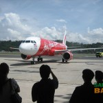 The much anticipated arrival of the new AirAsia Airbus A320