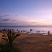 Sunset at First Beach Tanjung Aru