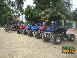 Some mean quad bikes for the riding at KK Adventure Park