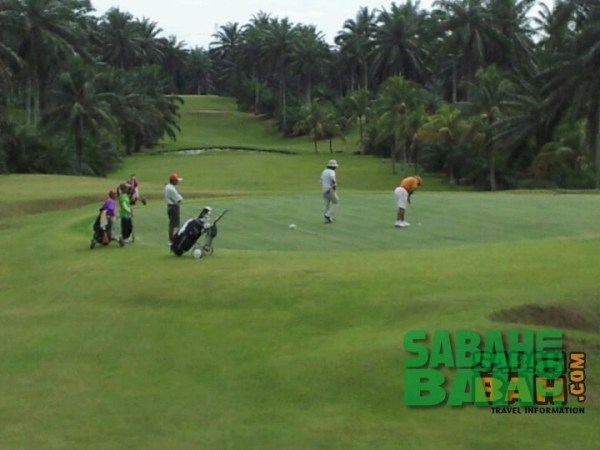 Lahad Datu Golf & Country Club course