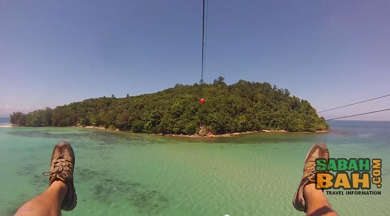 Coral Flyer Zipline & Island Hopping - SabahBah.com
