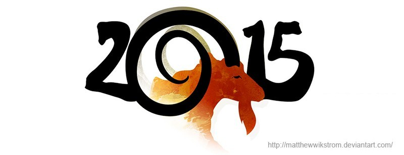 Year of the Goat - Artwork by Matthew Wikstrom, Diviant Art