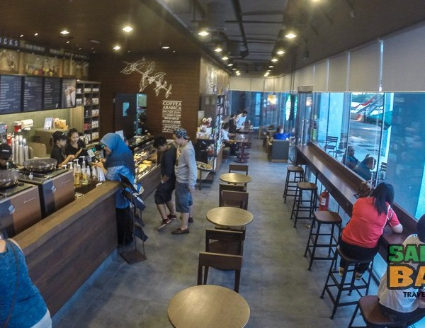 Starbucks Coffee in Kota Kinabalu, Sabah - Oceanus Waterfront Mall