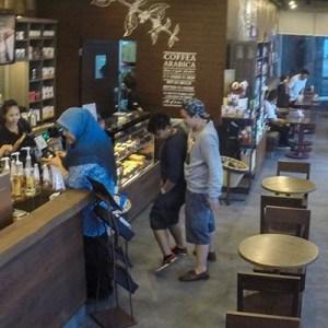 Starbucks Coffee in Kota Kinabalu, Sabah