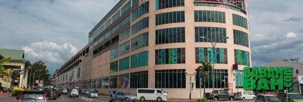 Megalong Shopping Centre in Donggongon, Kota Kinabalu, Sabah