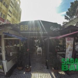 BB Cafe Bar & Grill, nightlife on Gaya Street in Kota Kinabalu, Sabah