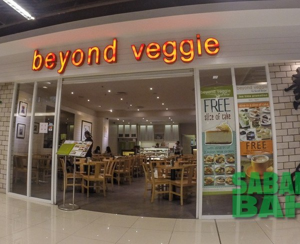 Vegetarian Food at Beyond Veggie in Imago The Mall in KK Times Square, Kota Kinabalu, Sabah