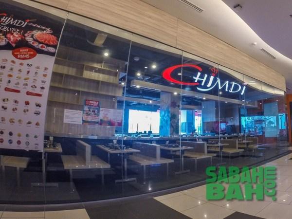 ChimDi Buffet Restaurant in Oceanus Mall, Kota Kinabalu, Sabah
