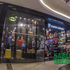 DC Comics Super Heroes Retail Outlet in Imago The Mall at KK Times Square, Kota Kinabalu, Sabah