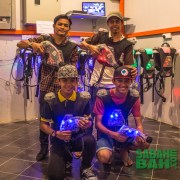 Laser Tag at CYC Laser World in Imago The Mall, Kota Kinabalu, Sabah
