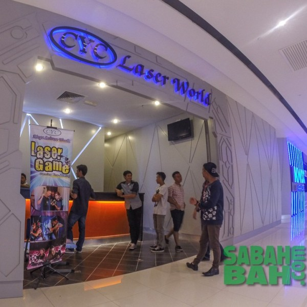 CYC Laser World - Laser Tag Game Arena in Imago The Mall in KK TImes Square, Kota Kinabalu, Sabah