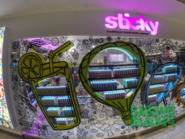 Sticky Candy in Imago The Mall in KK Times Square, Kota Kinabalu, Sabah