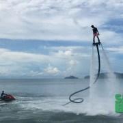 Flyboarding in Kota Kinabalu, Sabah