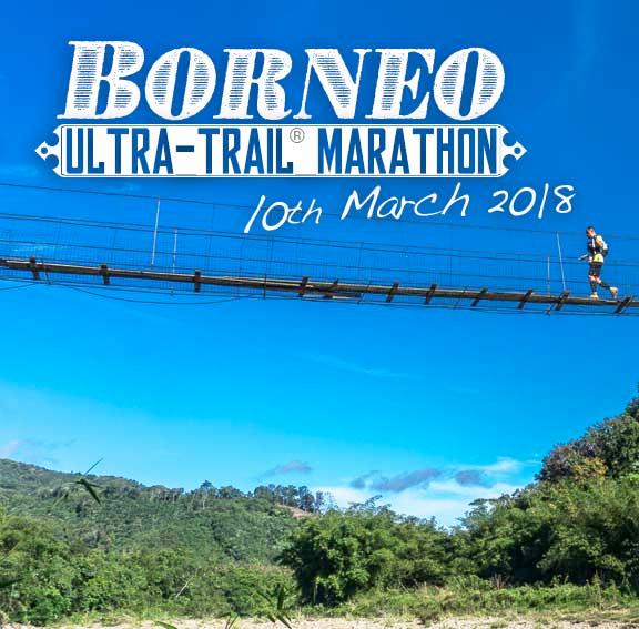 Borneo Ulra Trail Marathon, Kiulu, Sabah, Malaysia