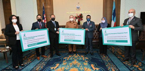 PETRONAS Laksana Sumbangan CSR Di Sabah