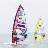 Чемпионат по виндсерфингу на Джомтиене