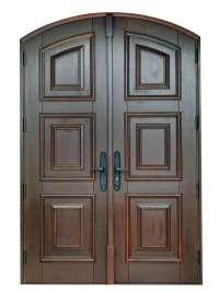 Bonita Springs Mahogany Front Door - Sabana Windows