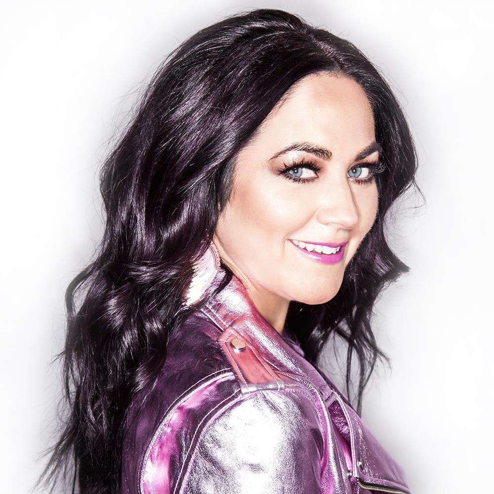 Cindy Eckert Purple Jacket