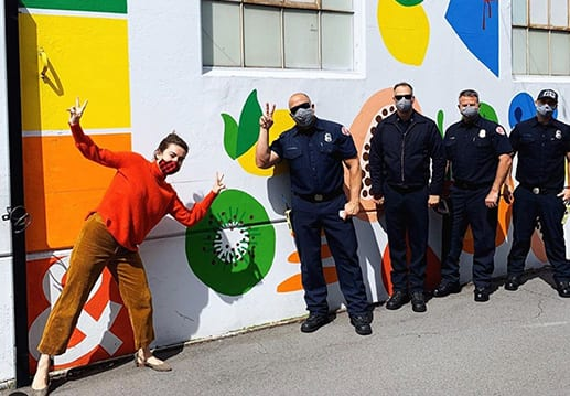 Police and Art