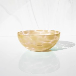 Mustard yellow bowl