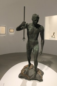 Un bronze.