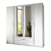 2 Door Wardrobe With Mirror And Drawers | www.pixshark.com ...