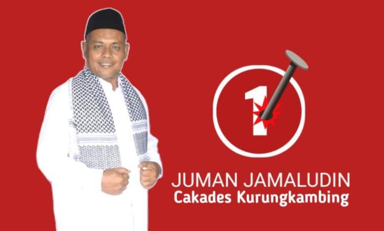 Juman Jamaludin warga asli Desa Kurungkambing Cakades