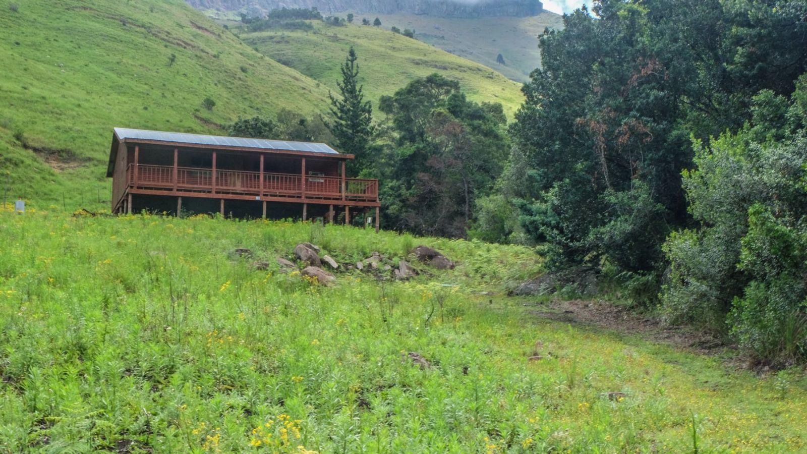 a photo of the last overnight hut on the amathole hiking trail.