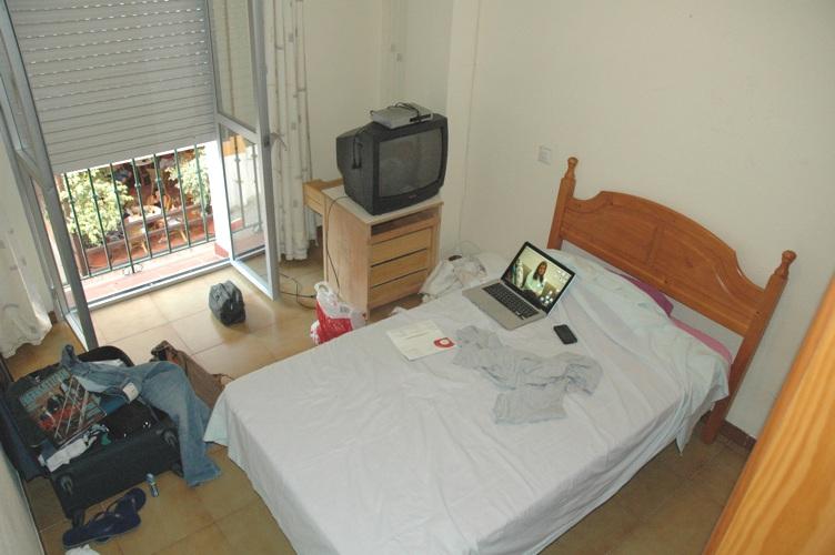 mit værelse arbejde i udlandet